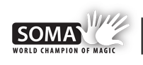 Hajnóczy Soma világbajnok bűvész hivatalos oldala